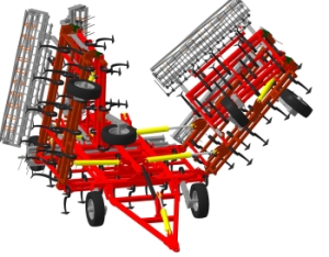Культиватор для сплошной обработки почвы КС-8М / 10М / 12М / 14М
