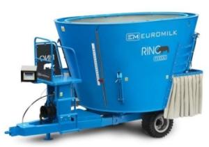 Измельчитель-смеситель-раздатчик кормов EuroMilk Rino Slim, FX, FXL, FXS, FXX, FXXS с вертикальным шнеком