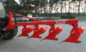 Однобалочные навесные плуги Euro-Masz PJ