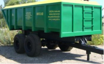 Полуприцеп тракторный ППТС-10 (герметичный)