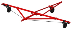 Сцепка для сеялок прицепная СП-7-01 с гидрофицированными маркерами