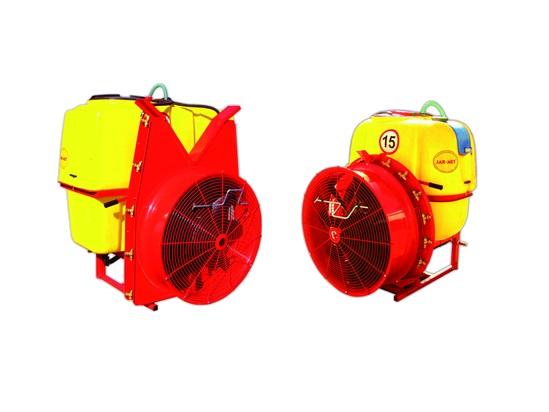 Опрыскиватели вентиляторные навесные JAR-MET