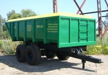 Герметичный тракторный полуприцеп ППТС-10