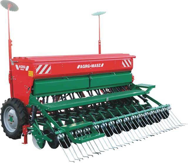 Сеялка зерновая Agro-Masz SR 250 / 270 / 300 / 400