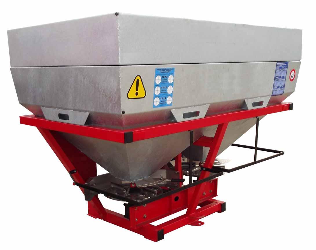 Разбрасыватель минеральных удобрений Agro-Masz РУМ 600 / 800 / 1000 / 1200