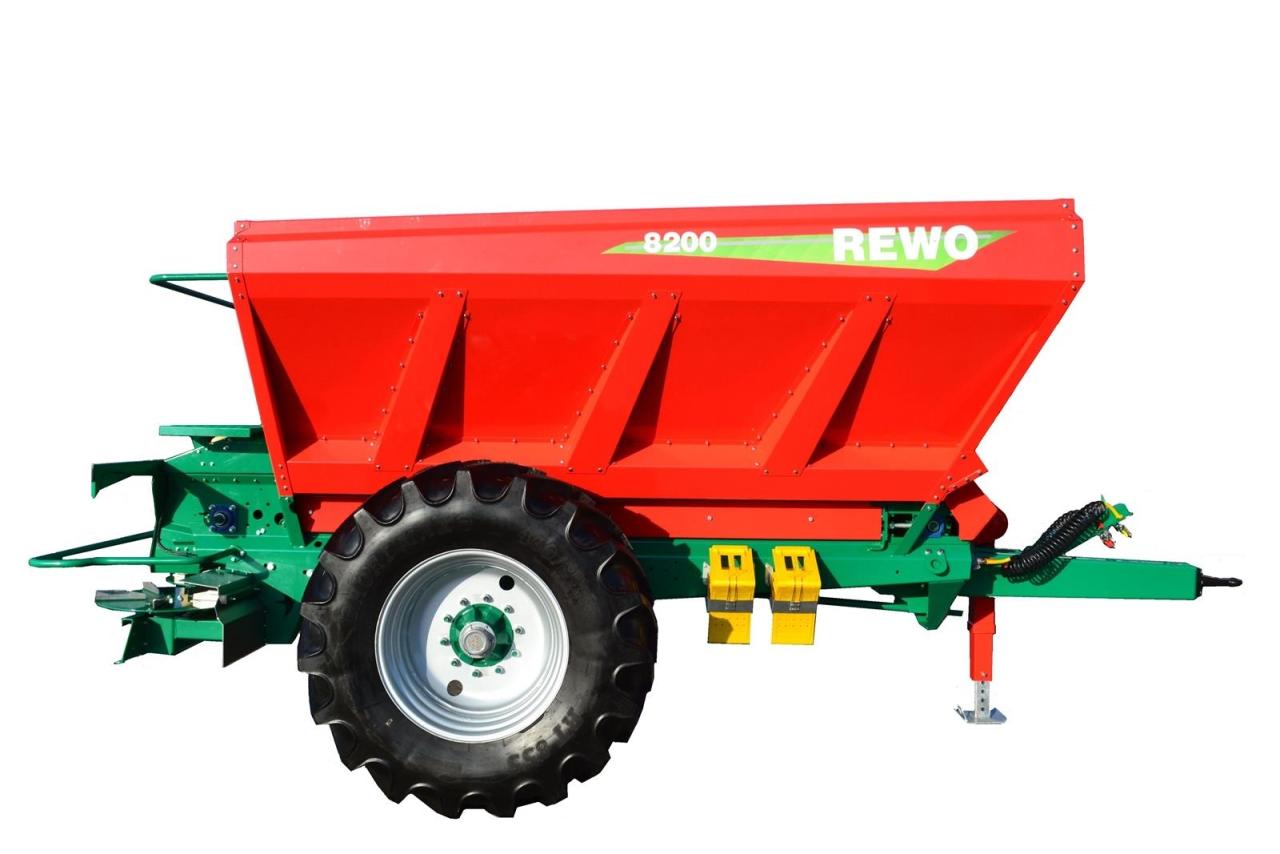 Разбрасыватель минеральных удобрений Agro-Masz Rewo 8200
